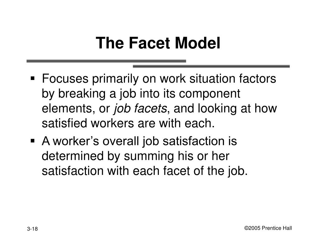 The Facet Model