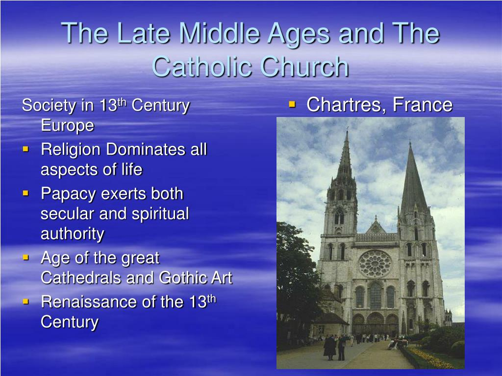 the late middle ages The term late middle ages refers to one of the three periods of the middle ages, along with the early middle ages and the high middle ages leonardo bruni was the first historian to use tripartite periodization in his history of the florentine people (1442.