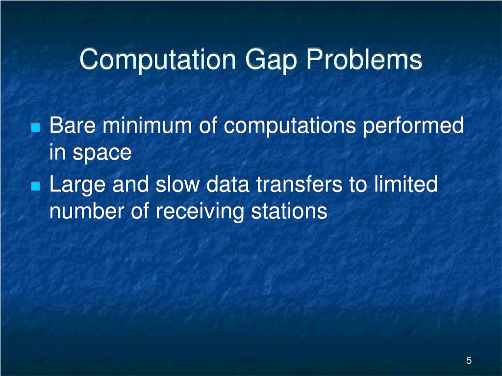 Computation Gap Problems