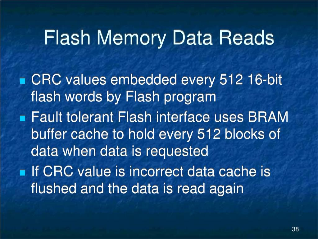Flash Memory Data Reads