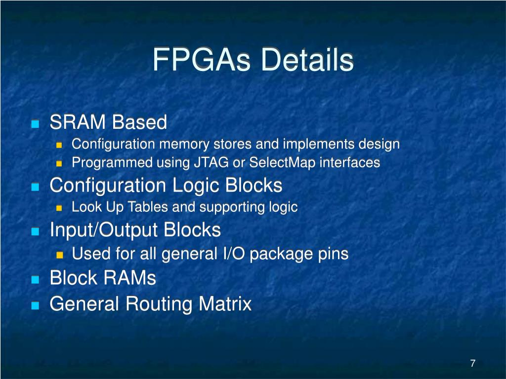 FPGAs Details