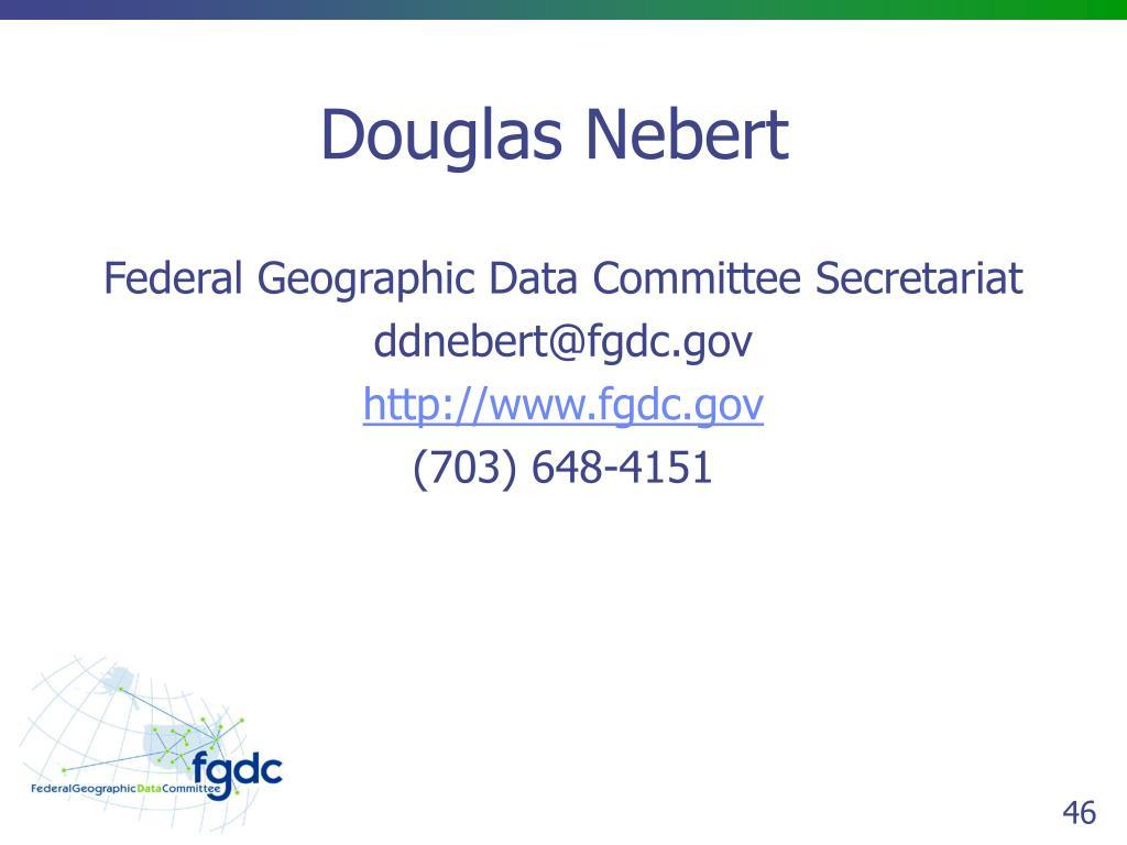 Douglas Nebert