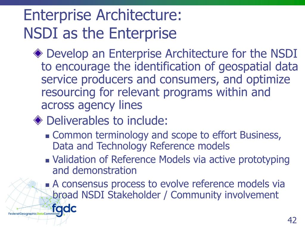 Enterprise Architecture: