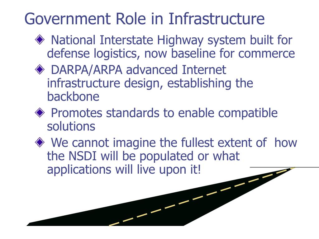 Government Role in Infrastructure