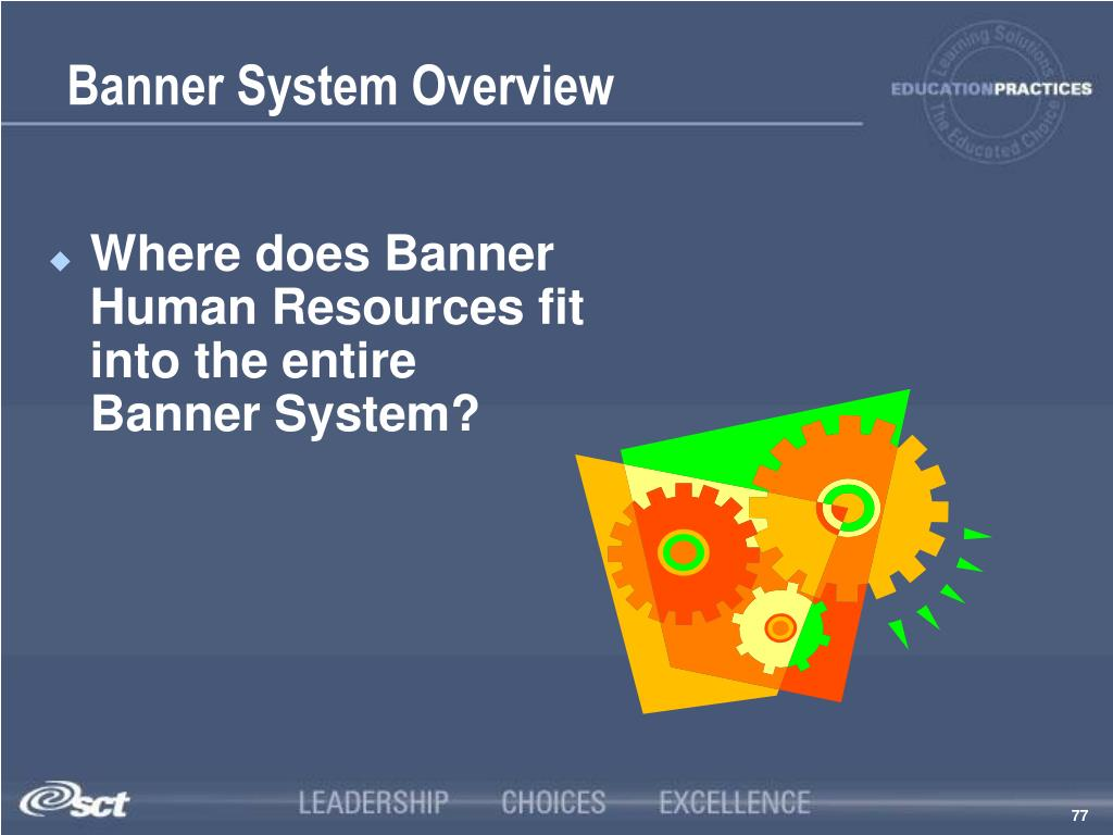 Banner System Overview
