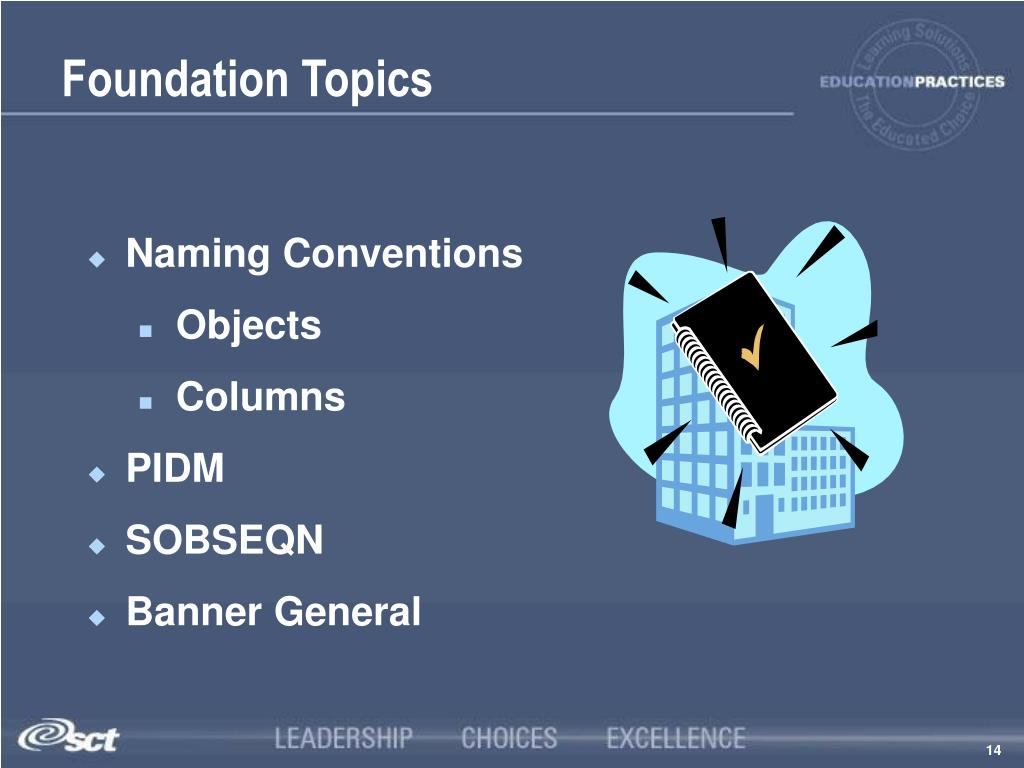 Foundation Topics