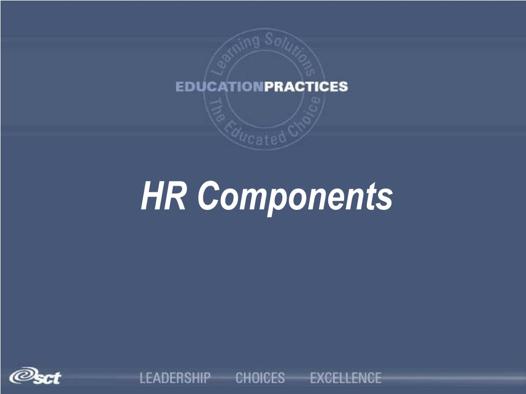 HR Components