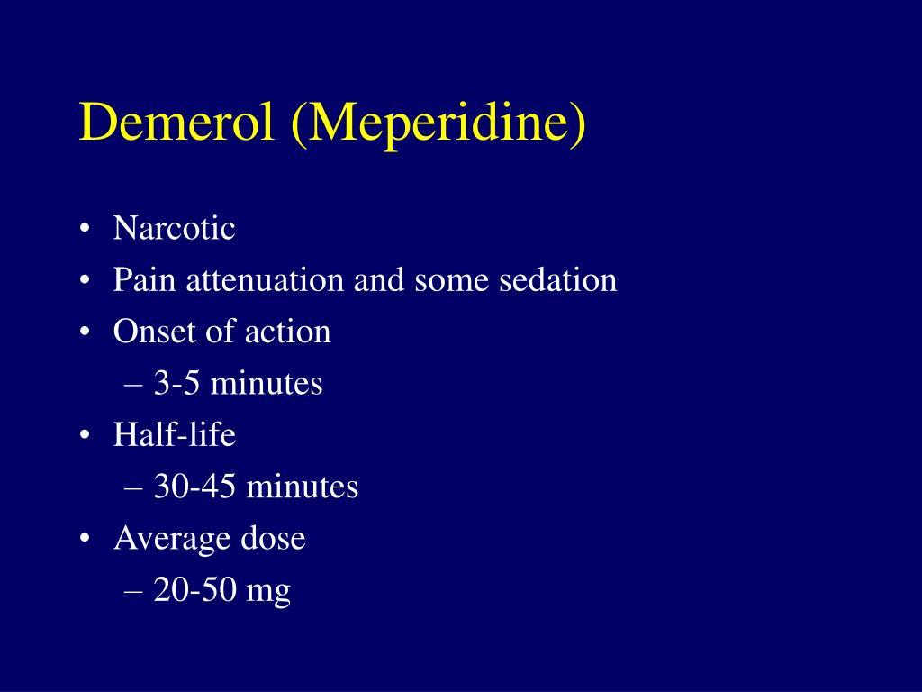 Demerol (Meperidine)
