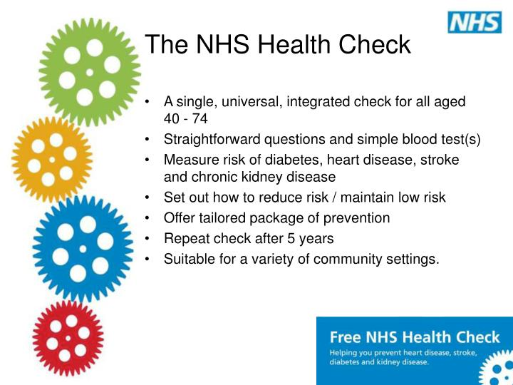 The nhs health check3