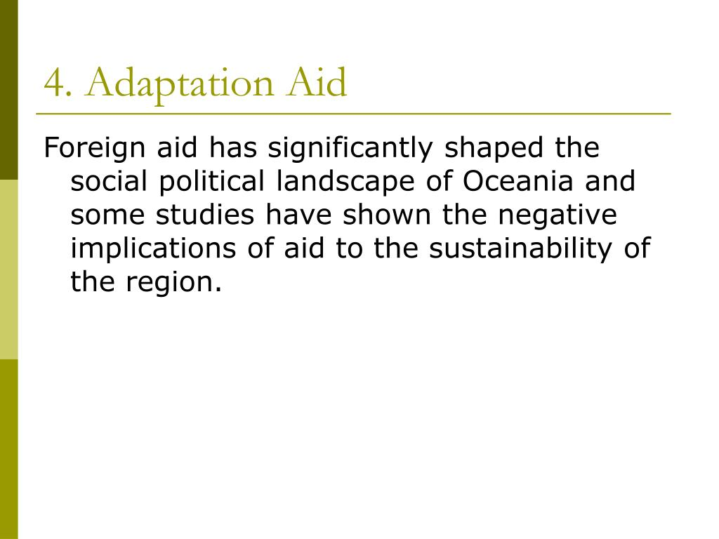 4. Adaptation Aid