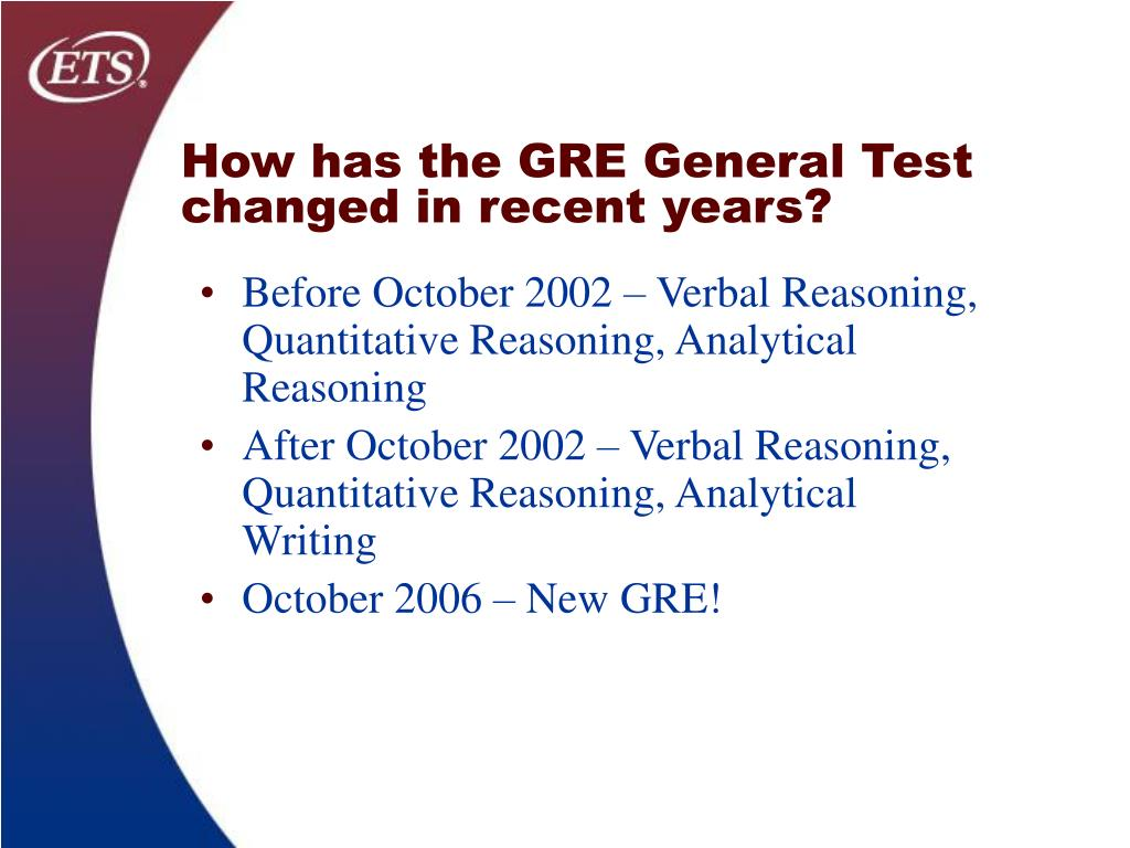 How has the GRE General Test changed in recent years?