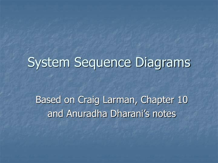 System sequence diagrams l.jpg