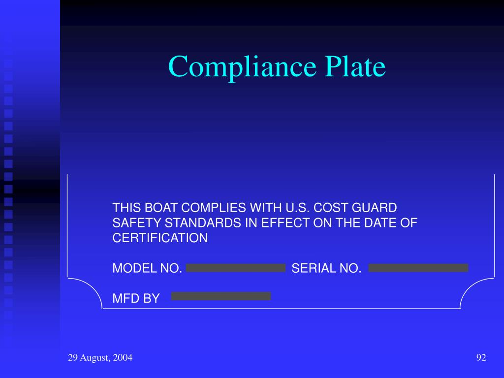 Compliance Plate