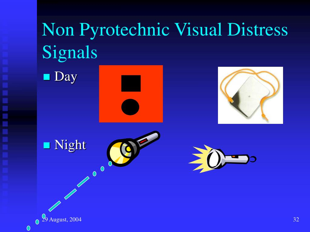 Non Pyrotechnic Visual Distress Signals