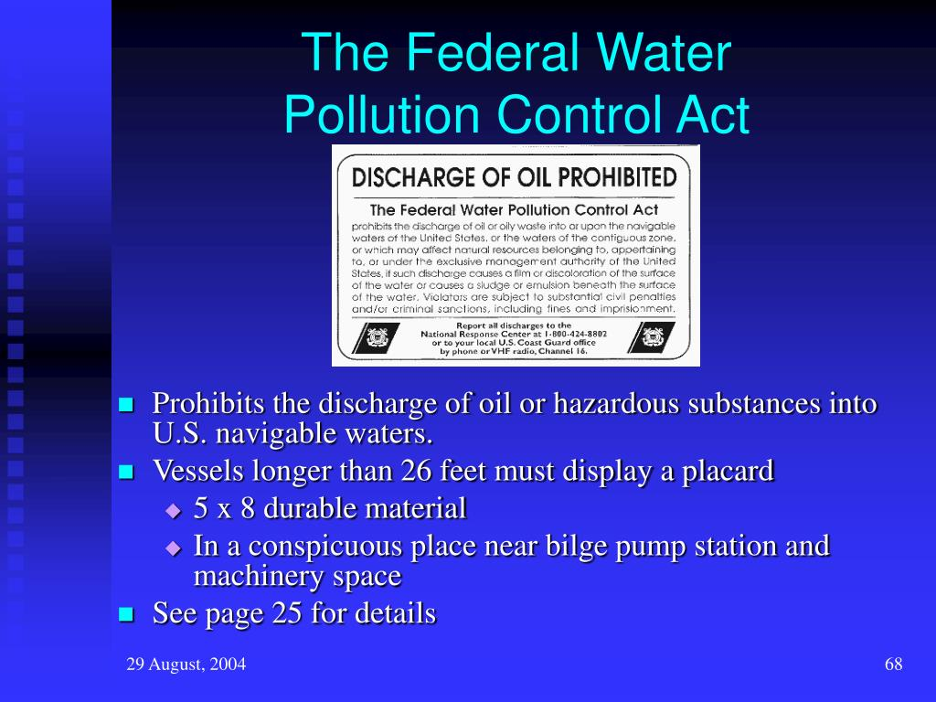 The Federal Water
