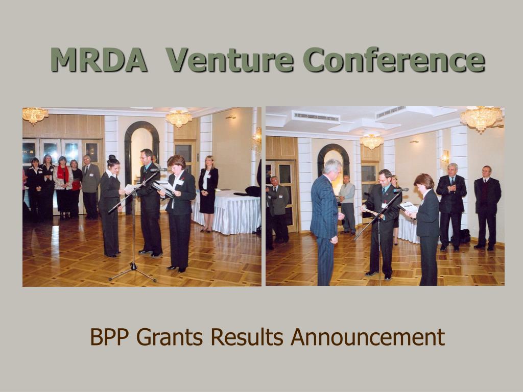 MRDA  Venture Conference