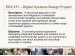 ece 477 digital systems design project