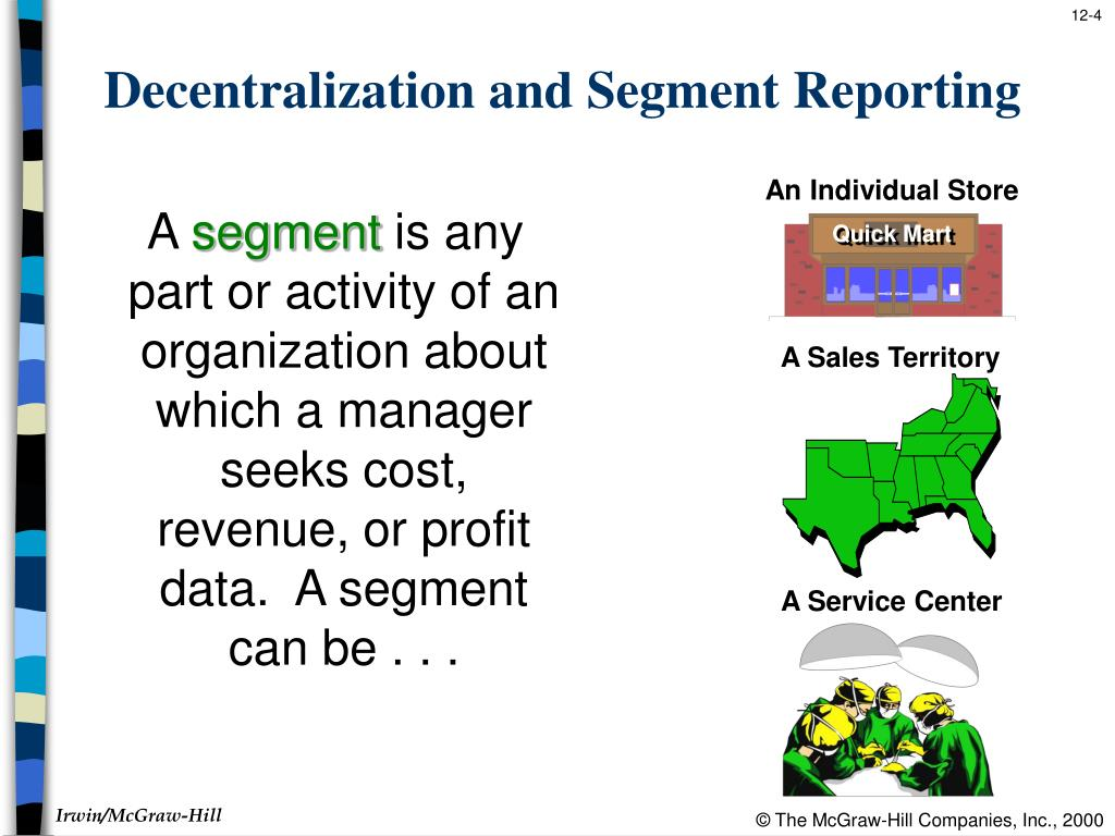 segment reporting and decentralization Download presentation powerpoint slideshow about 'segment reporting and decentralization' - thomas an image/link below is provided (as is) to.