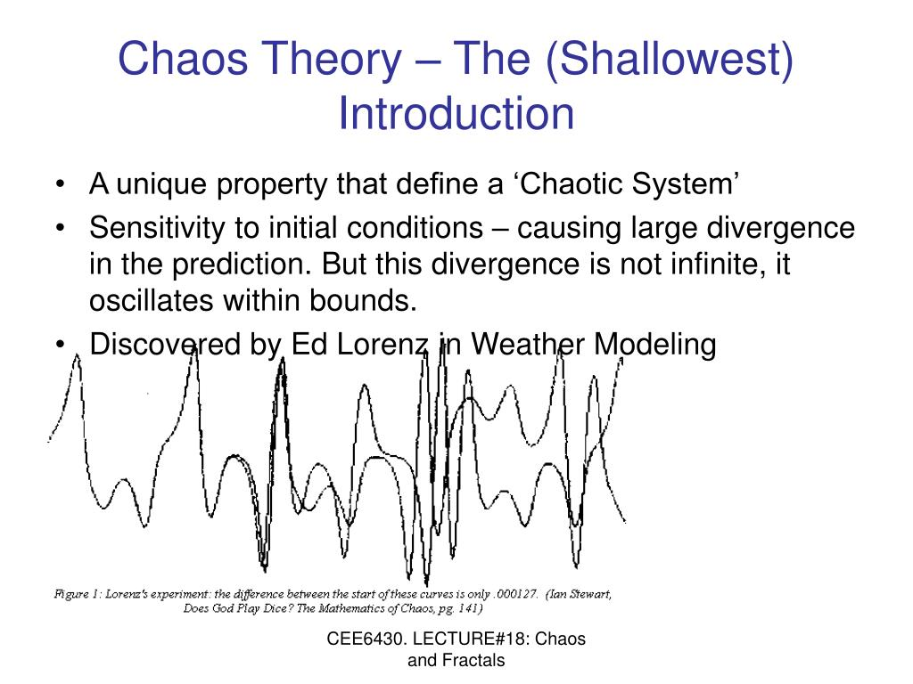 Chaos Theory – The (Shallowest) Introduction