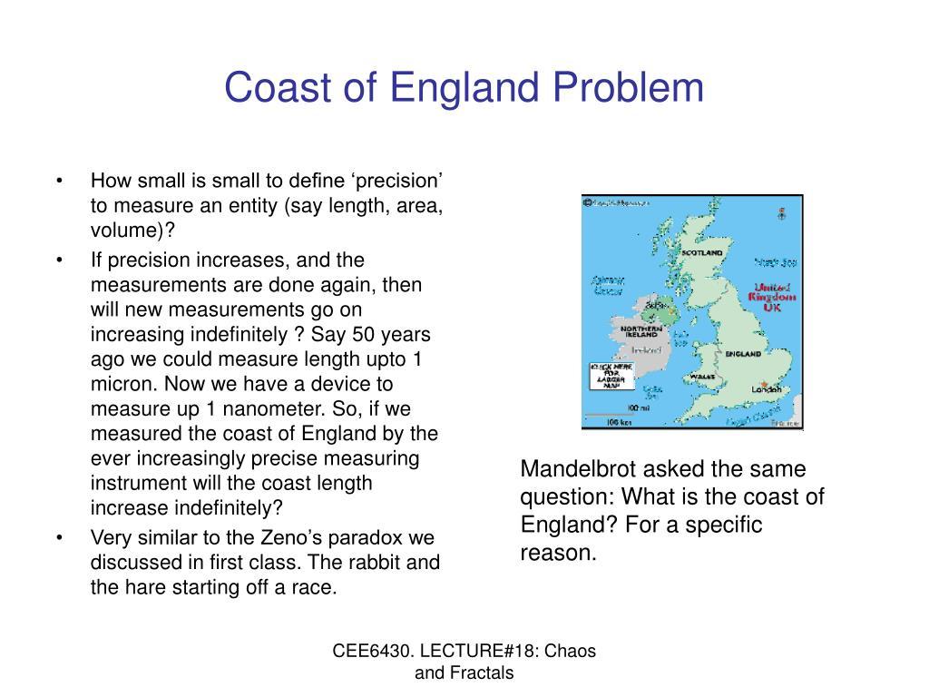 Coast of England Problem