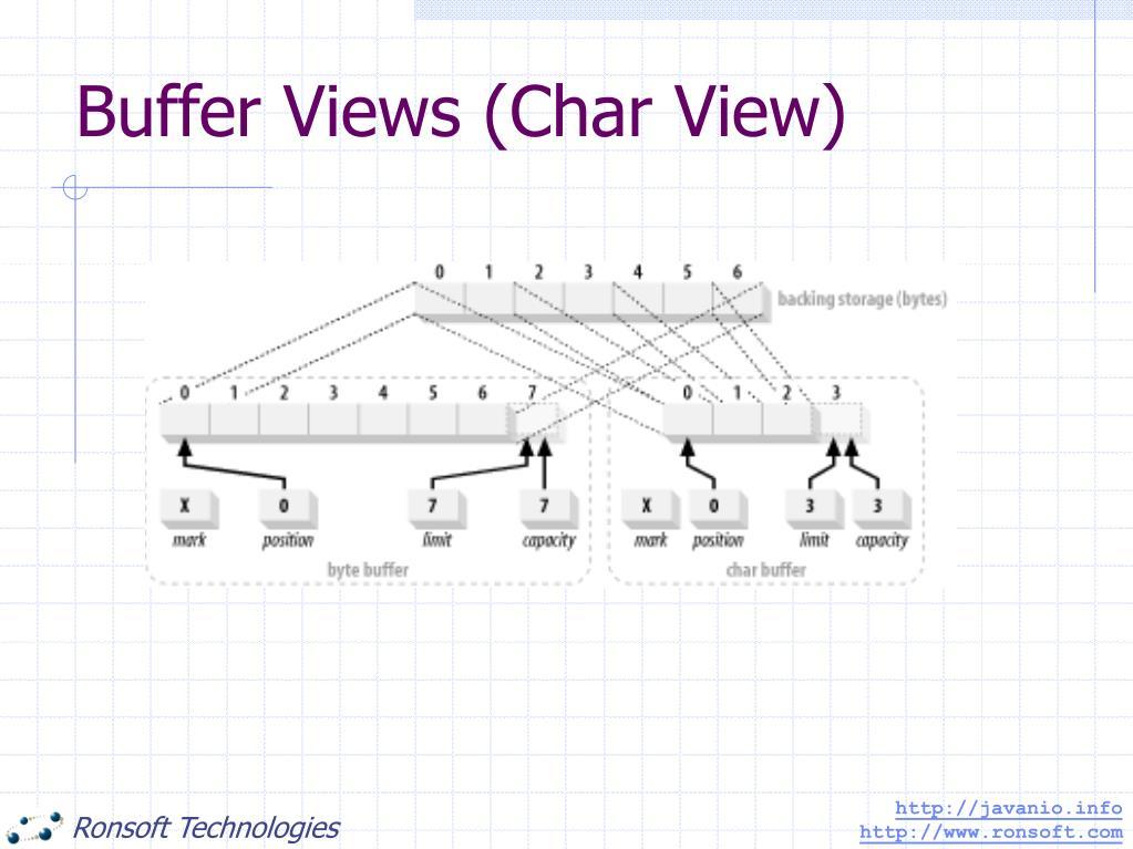 Buffer Views (Char View)