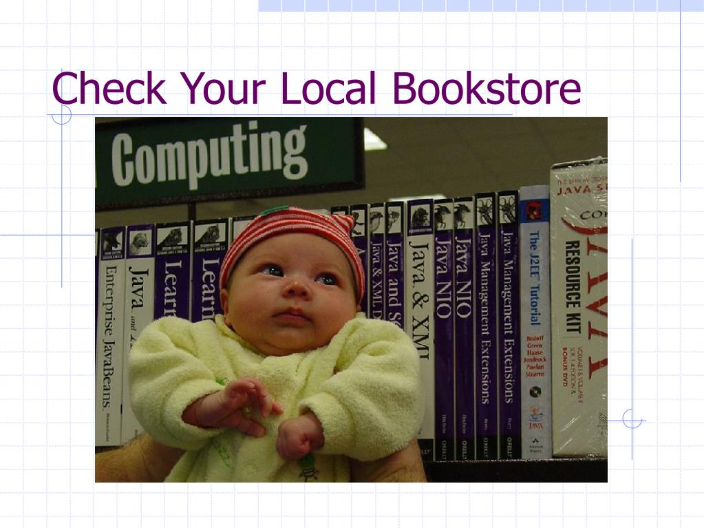 Check Your Local Bookstore