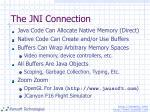 the jni connection