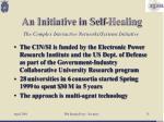an initiative in self healing