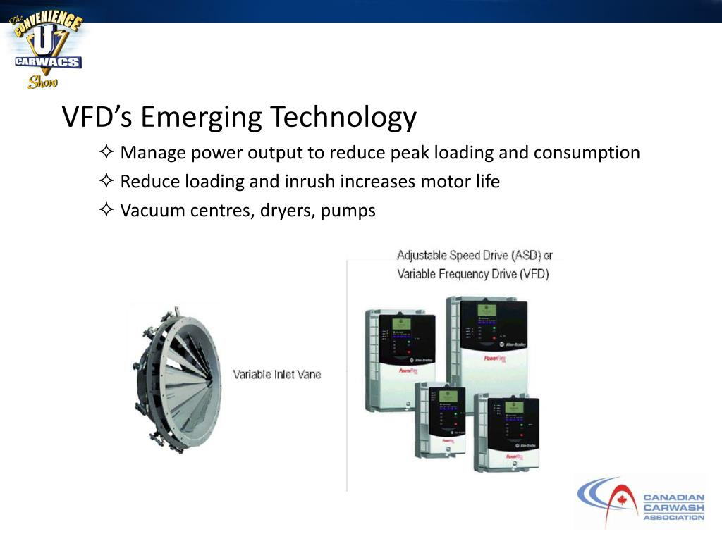 VFD's Emerging Technology
