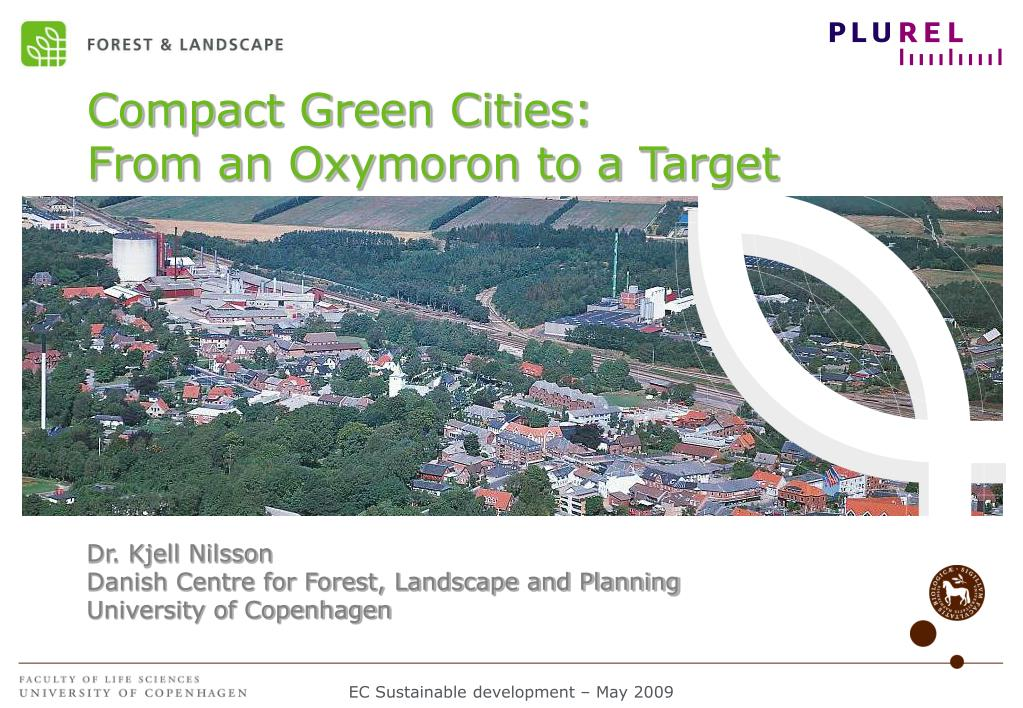 Compact Green Cities:
