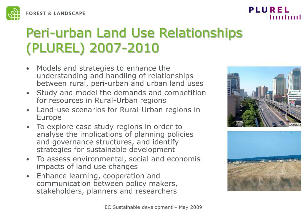 Peri-urban Land Use Relationships