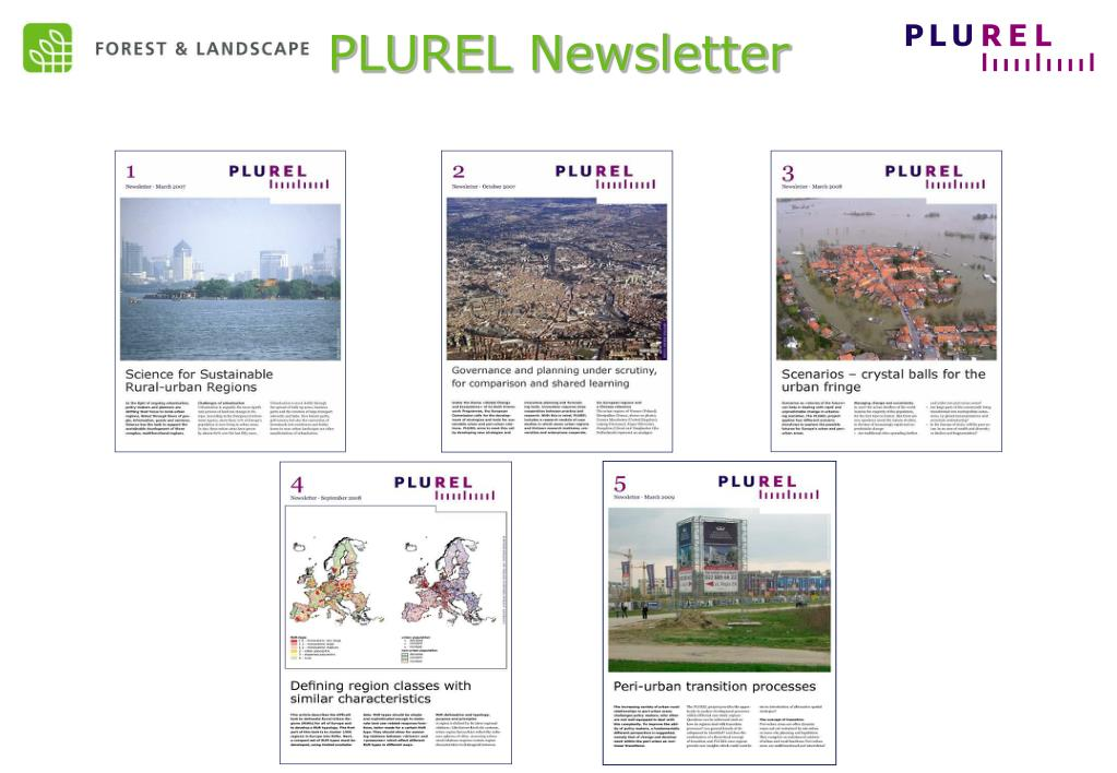 PLUREL Newsletter