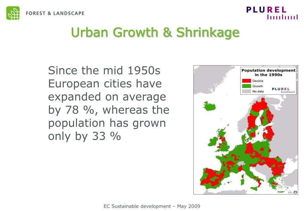 Urban Growth & Shrinkage