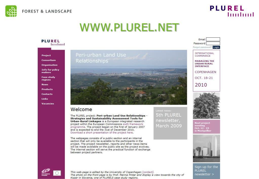 WWW.PLUREL.NET
