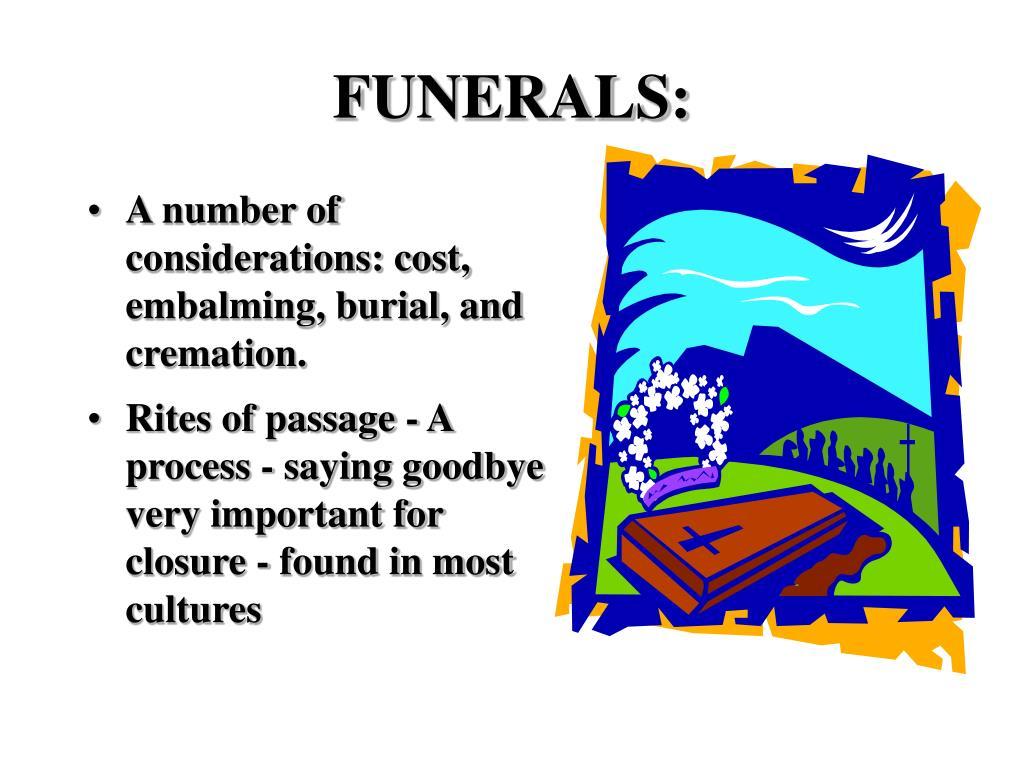 FUNERALS: