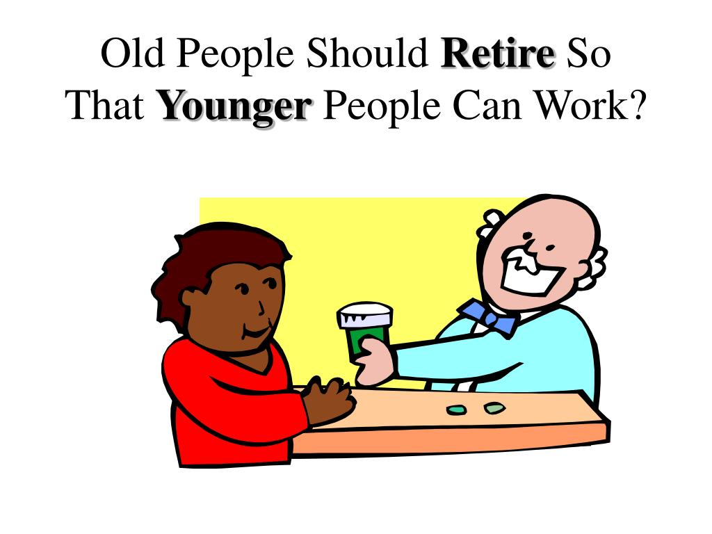 Old People Should
