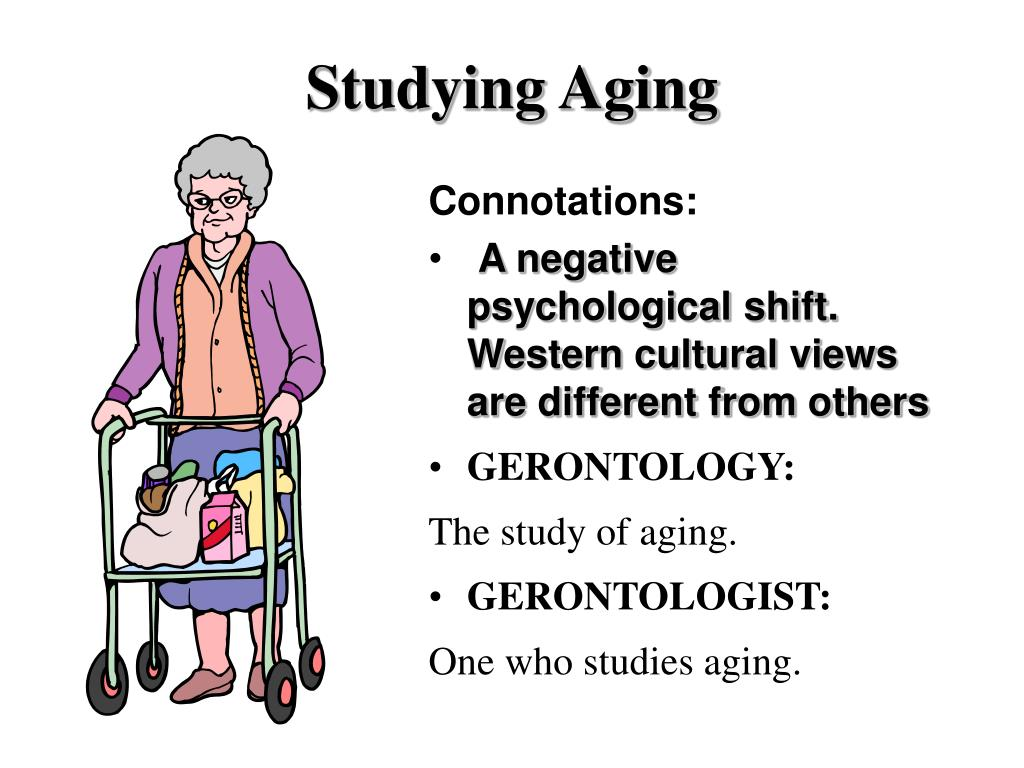Studying Aging