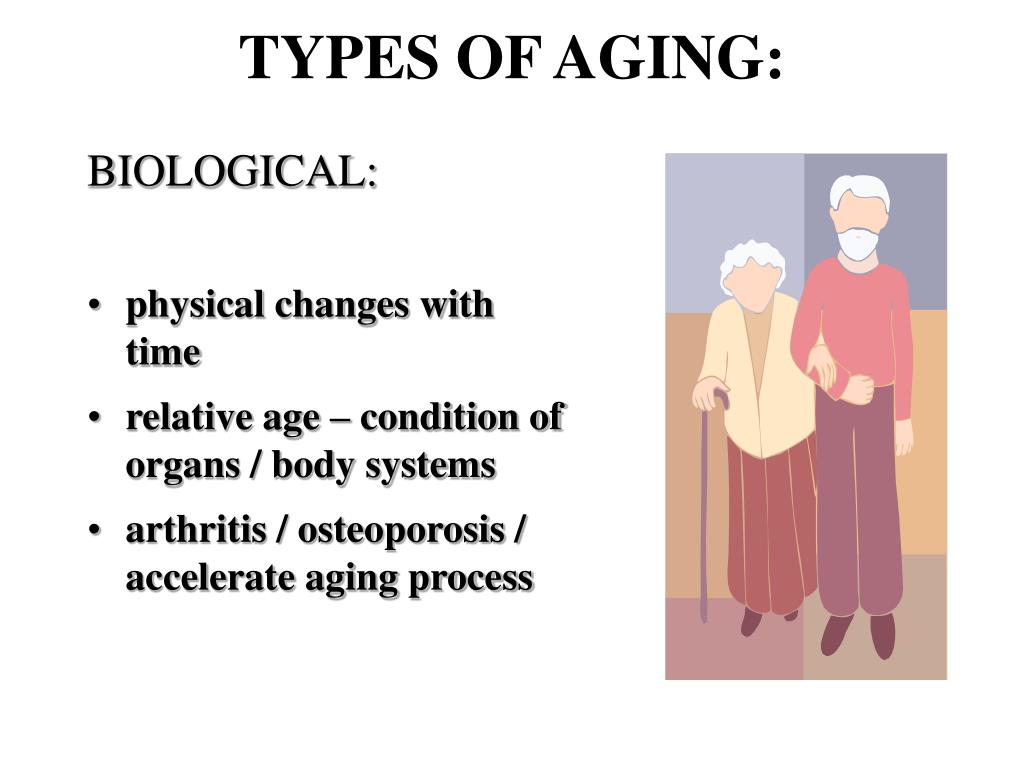 TYPES OF AGING: