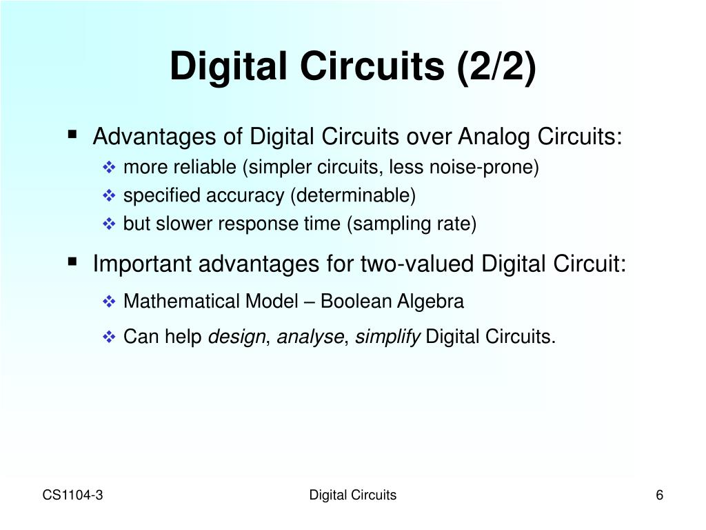 Digital Circuits (2/2)