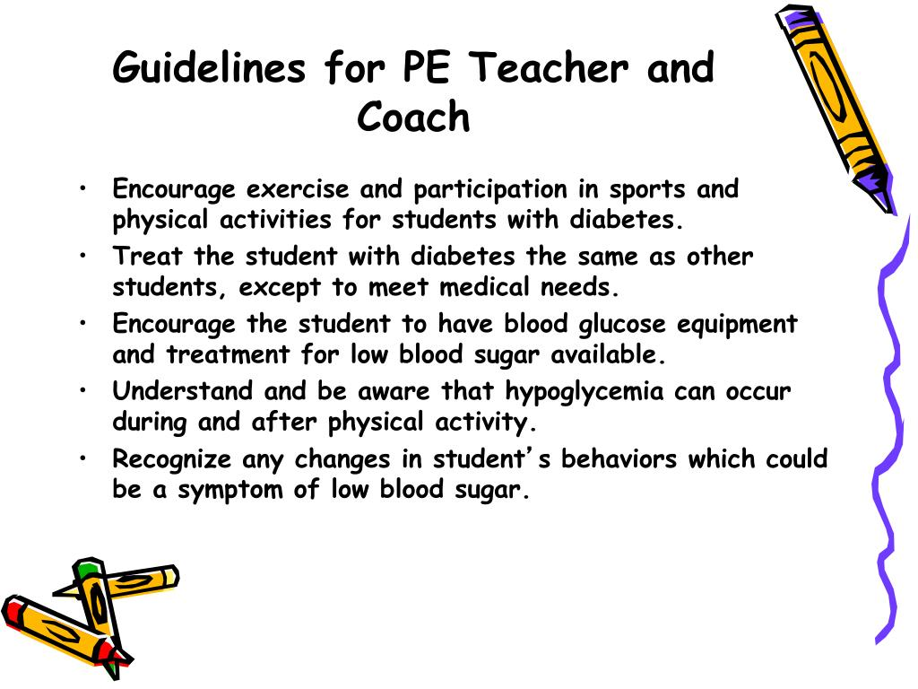 Guidelines for PE Teacher and Coach