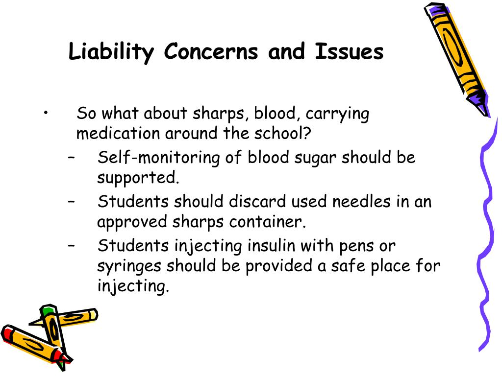 Liability Concerns and Issues