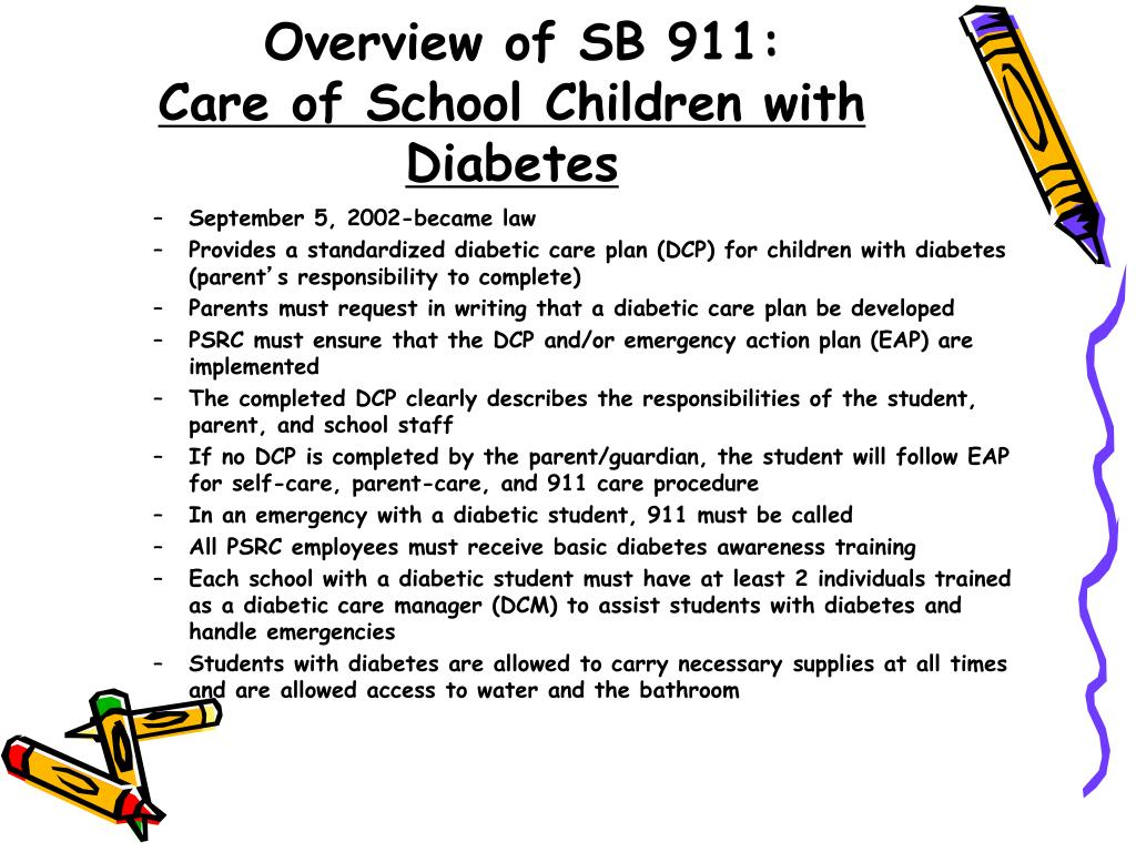 Overview of SB 911: