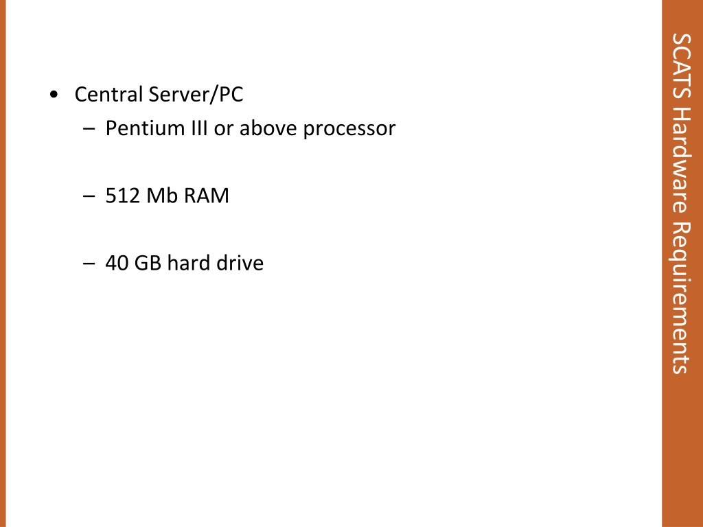 Central Server/PC