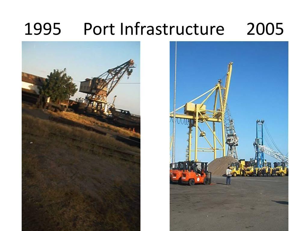 1995     Port Infrastructure     2005