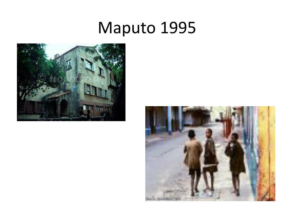 Maputo 1995
