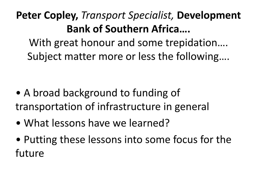 Peter Copley,