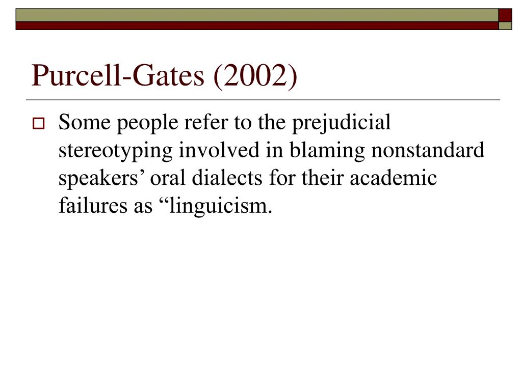 Purcell-Gates (2002)