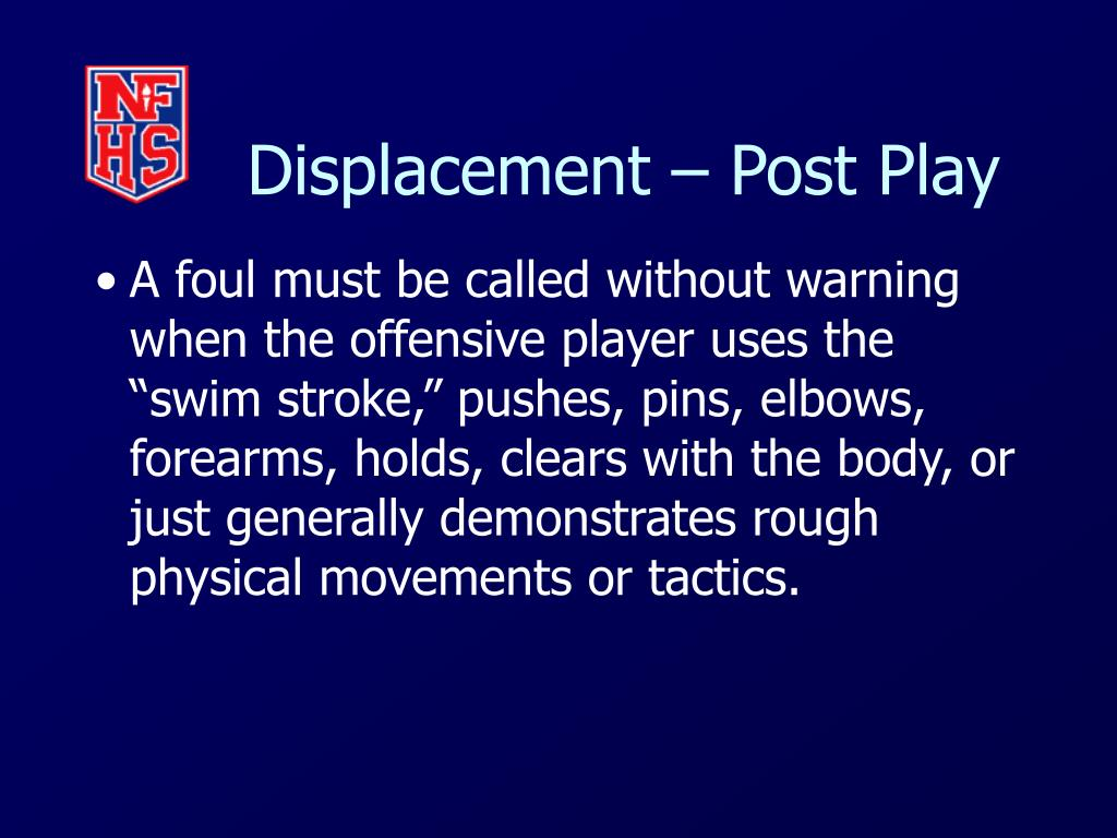 Displacement – Post Play