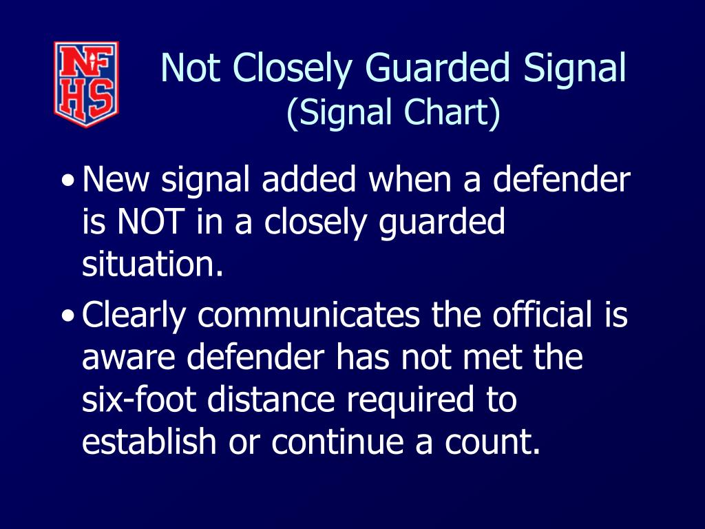 Not Closely Guarded Signal