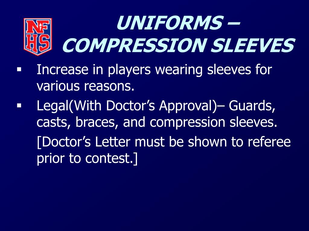 UNIFORMS – COMPRESSION SLEEVES